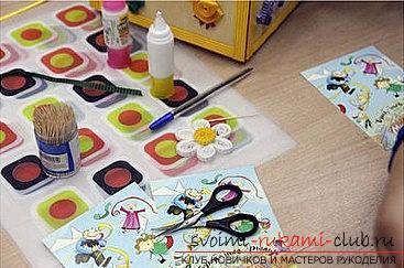 Как сделать цветочную композицию в технике квиллинг для открытки? Мастер-класс. Фото №2