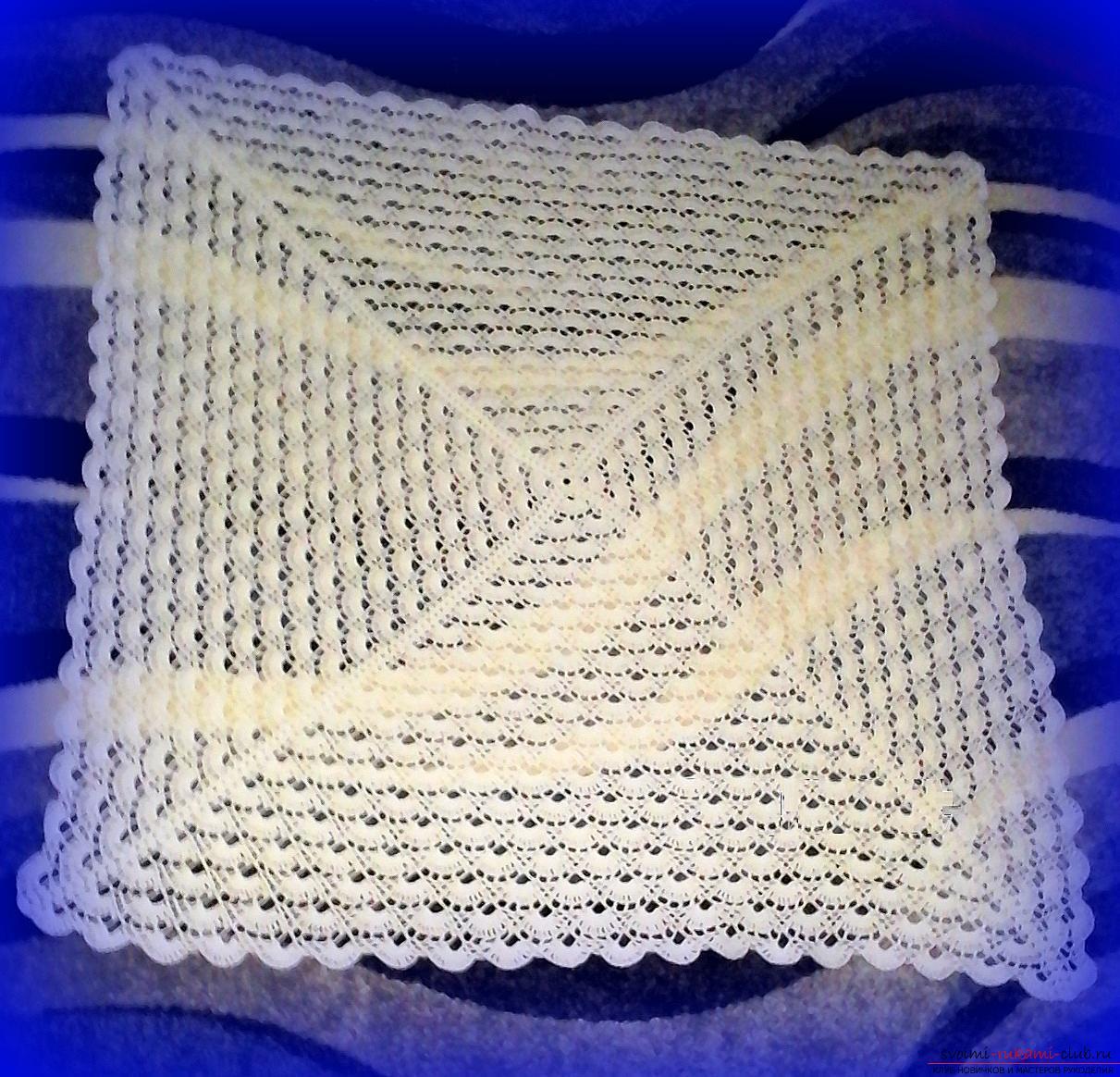 схема вязания занавески на окно крючком