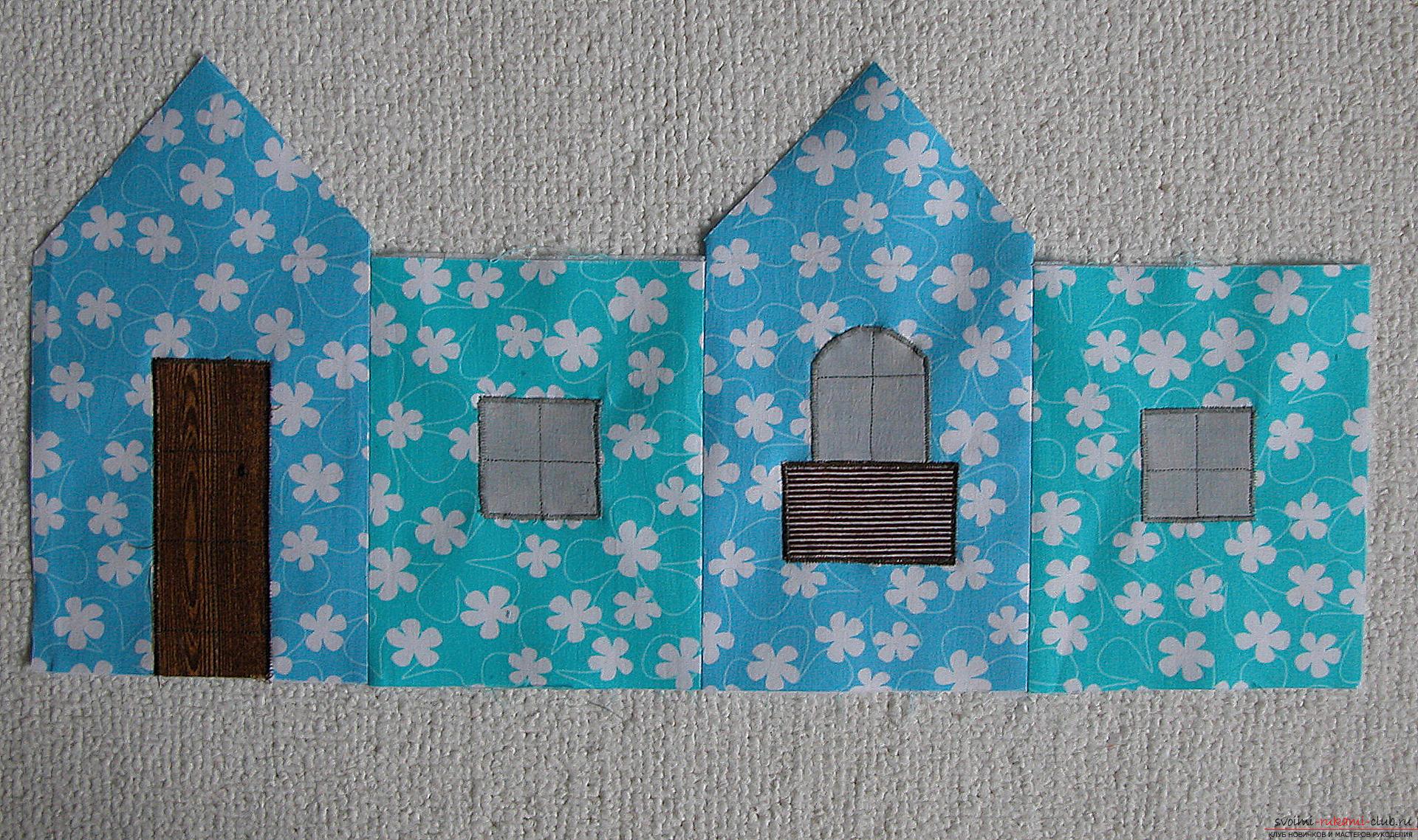 Мастер-класс - делаем текстильный функциональный домик своими руками. Фото №8