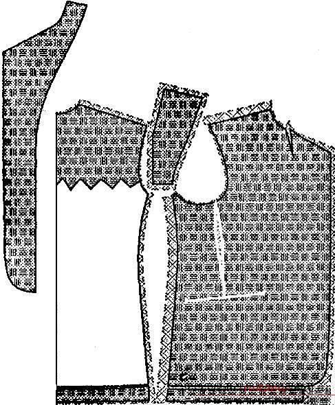Комфортный школьный костюм для мальчика своими руками с выкройкой и описанием. Фото №5