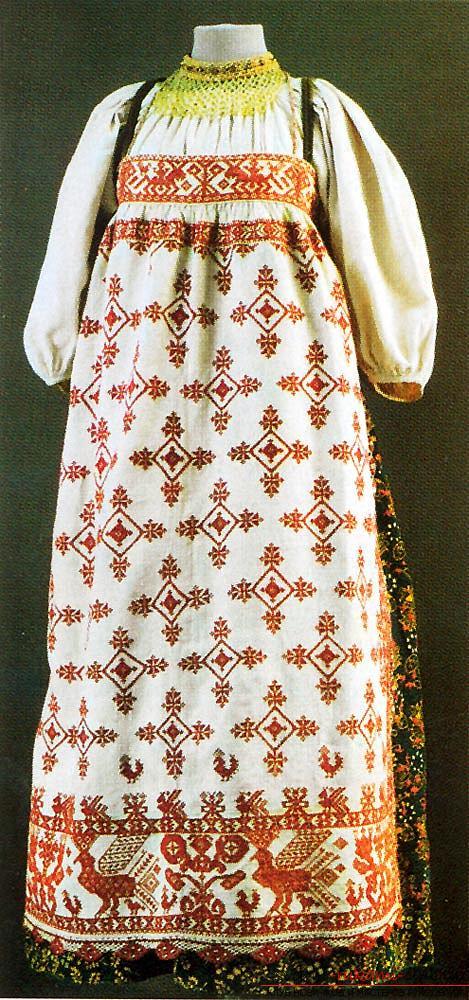 Комфортный русский народный сарафан своими руками. Фото №5