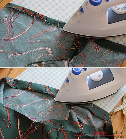 Чертеж юбки-трапеция
