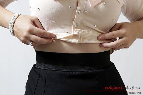 с чем носить юбку брюки полным женщинам