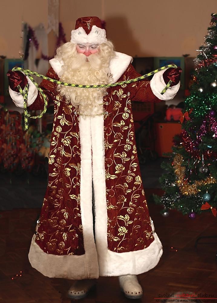 Костюм Деда Мороза на Новый год своими руками. Фото №1