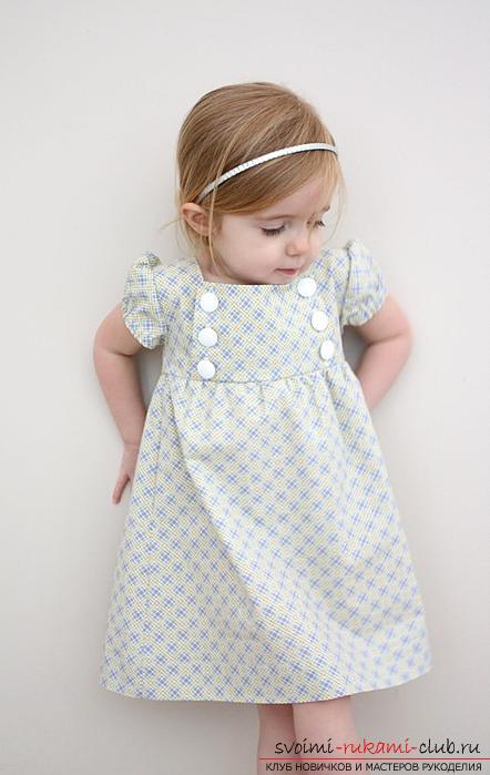 Как пошить платье девочке. СТАТЕЙКА с выкройками