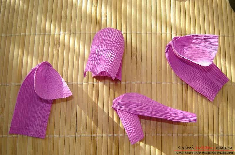 Как сделать букет полевых цветов в свит дизайне, пошаговые фото создания мака, ромашки, цветка подсолнечника, василька и крокуса. Фото №36