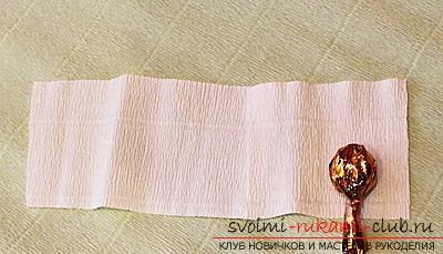 Как сделать букет полевых цветов в свит дизайне, пошаговые фото создания мака, ромашки, цветка подсолнечника, василька и крокуса. Фото №13