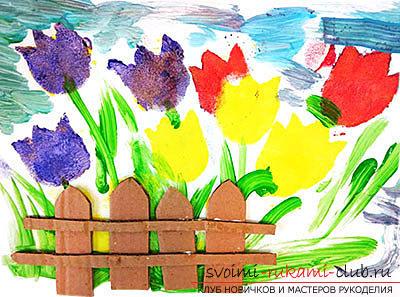 Поделки из бумаги для детей младшего возраста, бесплатные мастер-классы по созданию подарков из бумаги на 8 марта, советы и поэтапные фото.. Фото №1