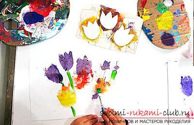 Поделки из бумаги для детей младшего возраста, бесплатные мастер-классы по созданию подарков из бумаги на 8 марта, советы и поэтапные фото.. Фото №2