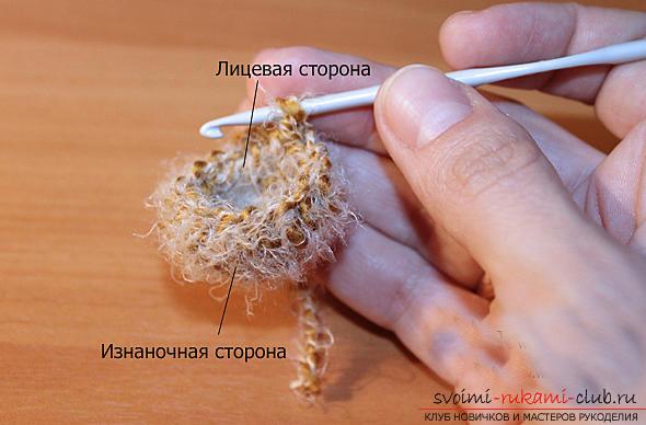Учимся вязать мишку амигуруми крючком с фото и подробным описанием. Фото №6