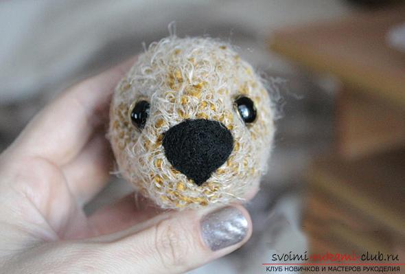 Учимся вязать мишку амигуруми крючком с фото и подробным описанием. Фото №14