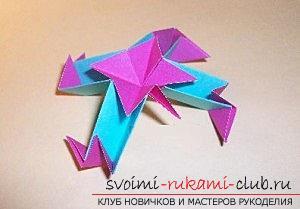 Бесплатные мастер классы по созданию модульных шаров оригами, пошаговые фото и описание.. Фото №61