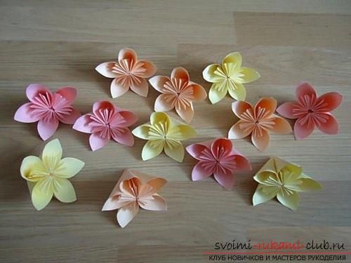 Бесплатные мастер классы по созданию модульных шаров оригами, пошаговые фото и описание.. Фото №10