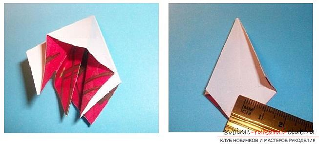 Бесплатные мастер классы по созданию модульных шаров оригами, пошаговые фото и описание.. Фото №17