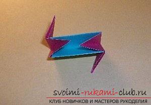Бесплатные мастер классы по созданию модульных шаров оригами, пошаговые фото и описание.. Фото №59