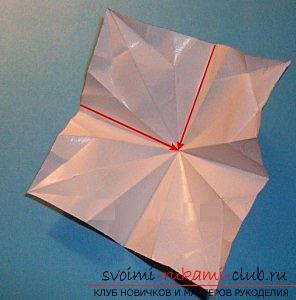 Бесплатные мастер классы по созданию модульных шаров оригами, пошаговые фото и описание.. Фото №22