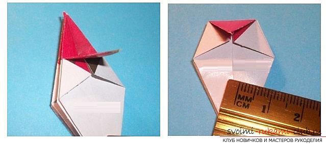 Бесплатные мастер классы по созданию модульных шаров оригами, пошаговые фото и описание.. Фото №20