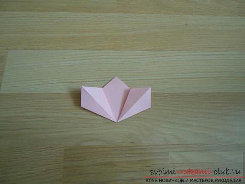 Бесплатные мастер классы по созданию модульных шаров оригами, пошаговые фото и описание.. Фото №5