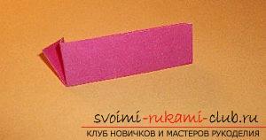 Бесплатные мастер классы по созданию модульных шаров оригами, пошаговые фото и описание.. Фото №53
