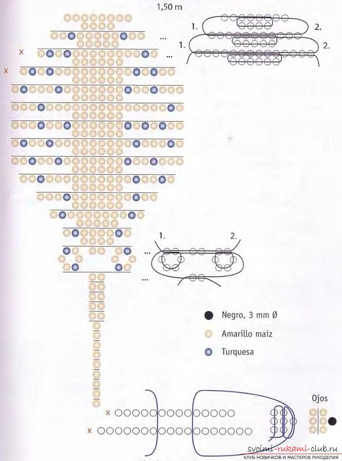 Бесплатные схемы плетения