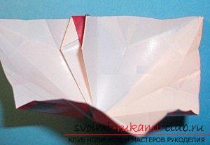 Бесплатные мастер классы по созданию модульных шаров оригами, пошаговые фото и описание.. Фото №25