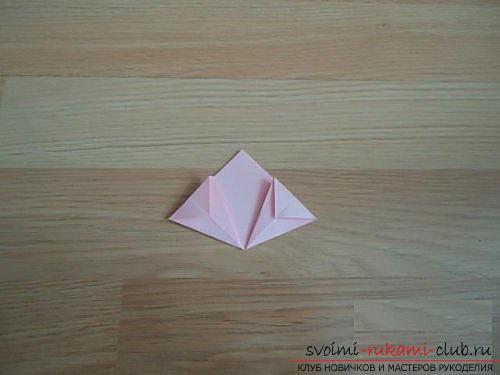 Бесплатные мастер классы по созданию модульных шаров оригами, пошаговые фото и описание.. Фото №6