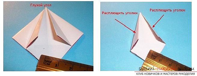 Бесплатные мастер классы по созданию модульных шаров оригами, пошаговые фото и описание.. Фото №16