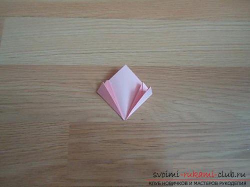 Бесплатные мастер классы по созданию модульных шаров оригами, пошаговые фото и описание.. Фото №7
