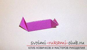 Бесплатные мастер классы по созданию модульных шаров оригами, пошаговые фото и описание.. Фото №55