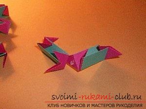 Бесплатные мастер классы по созданию модульных шаров оригами, пошаговые фото и описание.. Фото №60