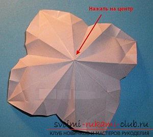 Бесплатные мастер классы по созданию модульных шаров оригами, пошаговые фото и описание.. Фото №21