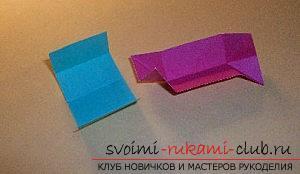 Бесплатные мастер классы по созданию модульных шаров оригами, пошаговые фото и описание.. Фото №57