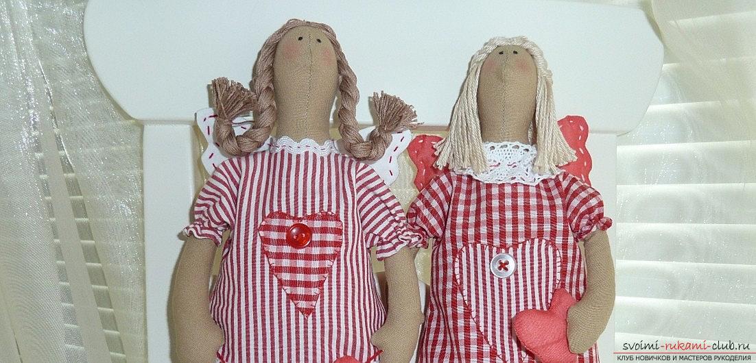 Выкройка тряпичной куклы в натуральную величину