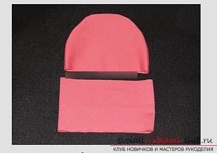 Выкройка варианта весенне-осенней шапочки своими руками - шапочка для ребенка. Фото №5