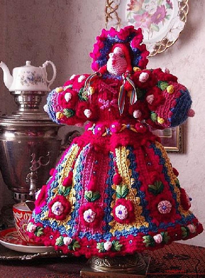 Как связать красивую куколку своими руками крючком, подробное описание, схемы и фото готовых изделий.. Фото №9