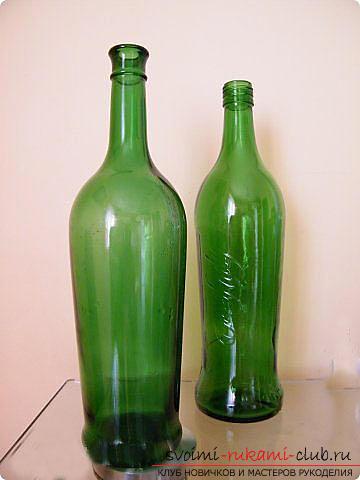Оплетаем газетными трубочками бутылку или сосуд своими руками с фото. Фото №14
