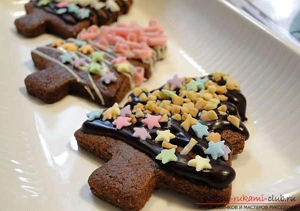 Рецепт выпечки печенья со сладостями своими руками - мастер-класс для печенья. Фото №3
