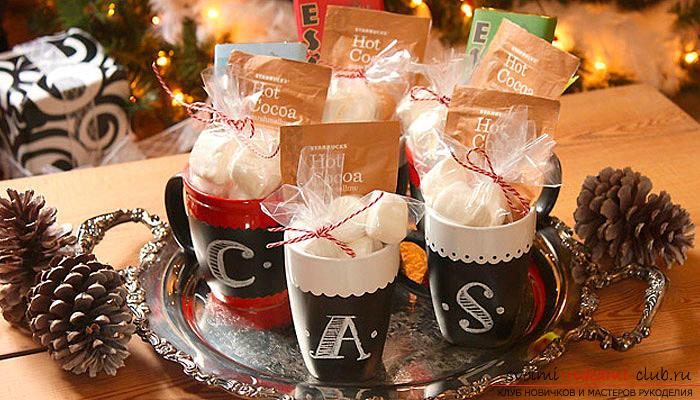 Новогодние подарки, новогодние поделки своими руками, сувениры своими руками, как сделать подарок на Новый год, идеи новогодних подарков своими руками.. Фото №15