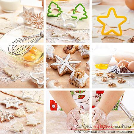 Рецепт выпечки печенья со сладостями своими руками - мастер-класс для печенья. Фото №1