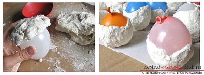 Как сделать из папье маше в разных техниках предметы декора интерьера: вазы, тарелку и рамку для фото, маску в венецианском стиле для вечеринок, пошаговые фото и подробное описание работы. Фото №8