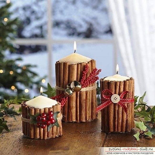 Идеи свечей своими руками