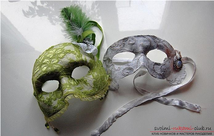 Как сделать из папье маше в разных техниках предметы декора интерьера: вазы, тарелку и рамку для фото, маску в венецианском стиле для вечеринок, пошаговые фото и подробное описание работы. Фото №16