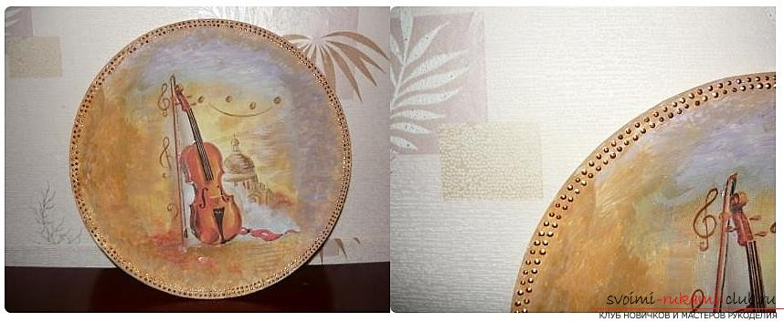 Как сделать из папье маше в разных техниках предметы декора интерьера: вазы, тарелку и рамку для фото, маску в венецианском стиле для вечеринок, пошаговые фото и подробное описание работы. Фото №13