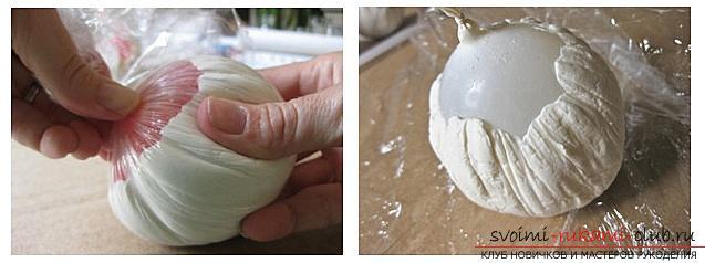 Как сделать из папье маше в разных техниках предметы декора интерьера: вазы, тарелку и рамку для фото, маску в венецианском стиле для вечеринок, пошаговые фото и подробное описание работы. Фото №9