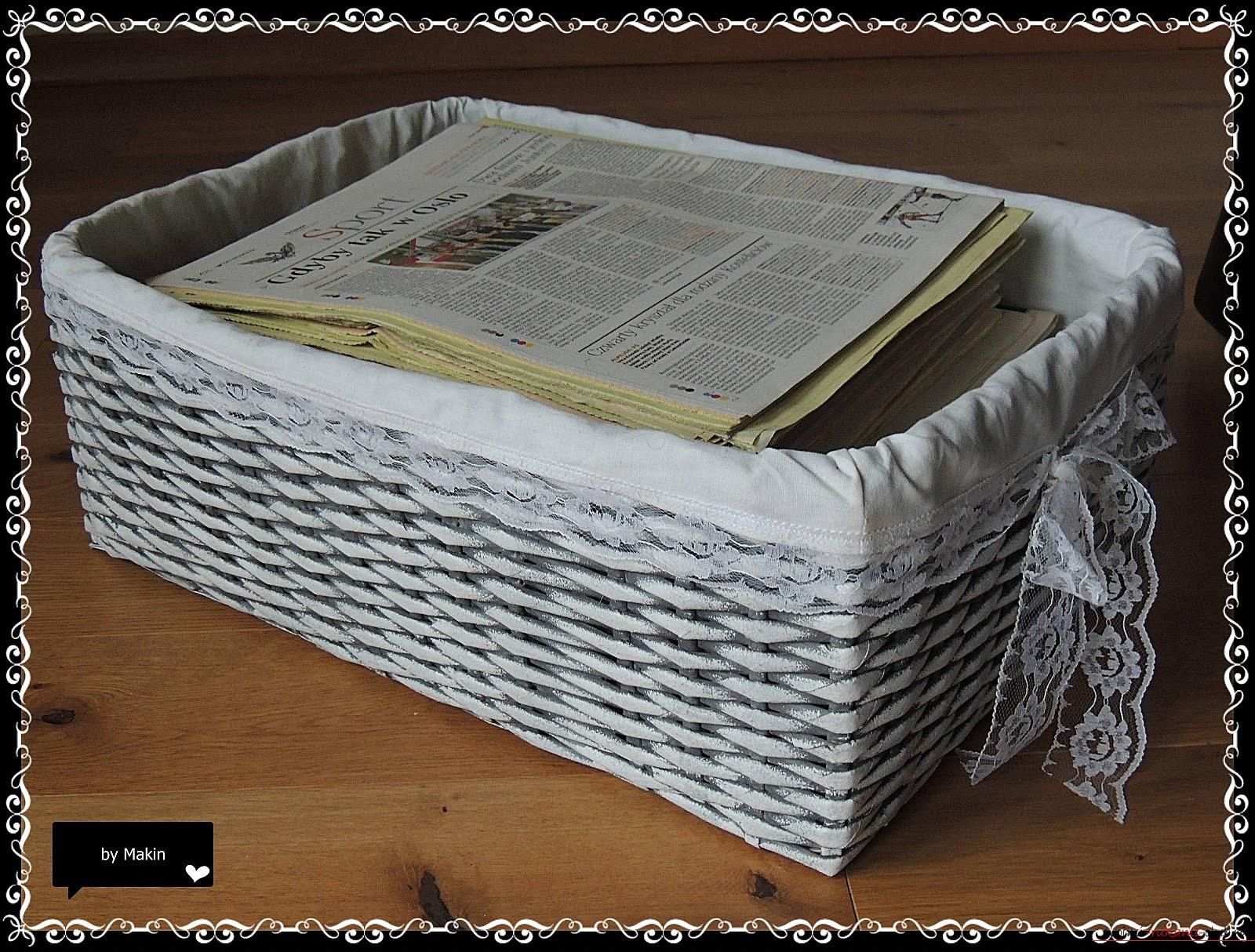Поделки из газеты своими руками. Фотографии и красивые решения.. Фото №2