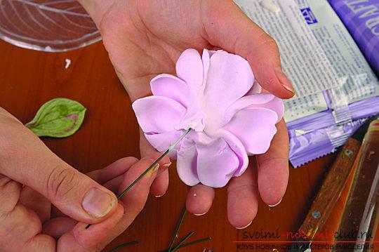 Мастер классы по созданию букетов из полимерной глины с описанием и фото.. Фото №47