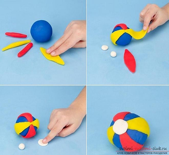 Простые поделки из пластилина для детей 2-3 лет 34