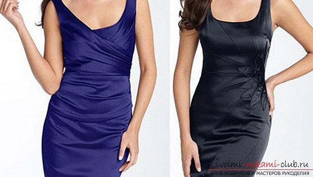 Сшить платье футляр своими руками без выкройки