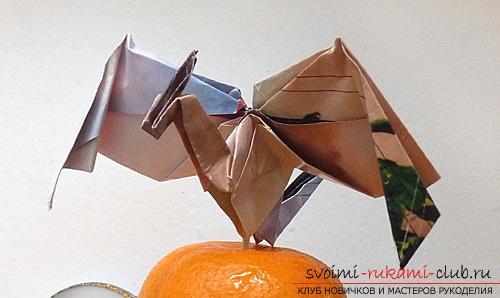 Как создать своими руками поделку в технике оригами для детей возрастом 9 лет.. Фото №12