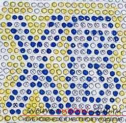 Как сделать сувенир с пасхальной тематикой в технике модульного оригами, пошаговые фото и описание создания пасхального яйца. Фото №40